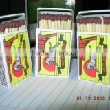 Nigeria Wooden safety matches buy