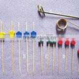 Colored Bamboo Bead Skewers