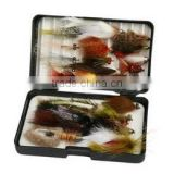 High Quality Fly Fishing - Fly Combo Set - Flies & Case