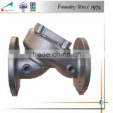 Custom best selling price high quality sand casting cast iron valve box