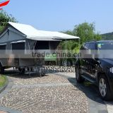 New hard floor camper trailer with tent for sale