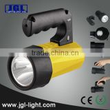 China Factory rechargeable hand grip led explosion proof high power led searchlight cree torch emergency spotlight