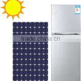 168L Solar Powered Household DC Compressor Upright Fridge
