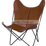 Metal solid steel black Material and Hotel Furniture Type leisure chairs for sale