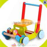 wholesale baby wooden toy walker cheap kids wooden toy walker outdoor children wooden toy walker W16E021