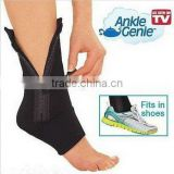 Ankle Support Sleeve Shield Zip Up Compression Support