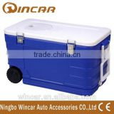 52L Capacity Blue Color Ice Cooler Box
