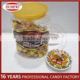 200 Units In Bottle Chocolate Candy Cubes