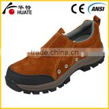 Welding genuine leather workplace safety shoes for welders