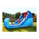 Durable Outdoor Inflatable Water Slides For Hire , Bouncy Water Slides
