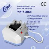 Y8 808nm diode laser hair removal machine / 808nm diode laser portable / mini diode laser