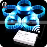 Event & Party Suppliers Logo Print 2 In 1 Function RFID Radio Remote Controlled LED Bracelets