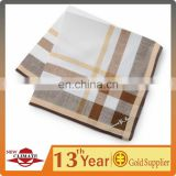 Plain Jacquard Style And Printed Pattern 100%Cotton Handkerchief