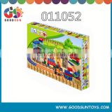 children plastic building blocks, zoo toys for kids,building blocks with train track and animals