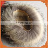 natural color real raccoon fur cuff