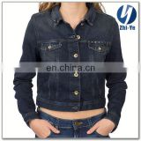 new fashion style denim jacket for ladies
