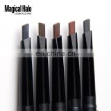 Newest Makeup Magical Halo Waterproof Eyebrow Pencil Automatically Makeup Brow Pencil 5 colors high quality free shipping
