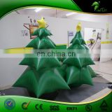 Customize Christmas Party Decoration inflatable tree / Yard Decor 6ft height Inflatable Christmas Tree For Sale