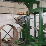 Automatic Steel Strapping Machinery For Vertical Strapping Of Steel Coils