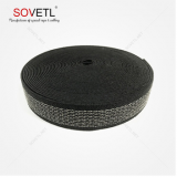 30mm Wide Black Anti-static Webbing Silver Fiber Strap For Glove