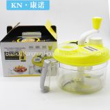 Manual Kitchen Food Chopper Vegetable Meat Grinder Food Processor Cutter Crusher