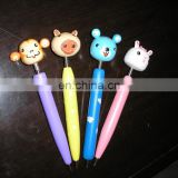 hand crafted animal wooden cartoon ballpoint pens