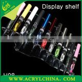 2016 Custom acrylic e cigarette display ,acrylic e cigarette display rack
