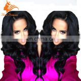 Top Quality No Shedding Tangle Free Natural Color Unprocessed Virgin Hair Thick Human Hair Lace Front Wig