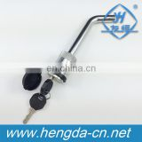 1/2 and 5/8 Key Receiver Lock-Bent Pin style Trailer locks
