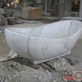 Guangxi White Marble Bathtub, China White Marble Bathroom Tubs