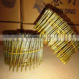 3.8mmX120mm Smooth Common Roofing Coil Nails Factory Price FC120