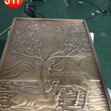 Foshan Manufactory Decorative Brass Partition Stainless Steel Room Divider