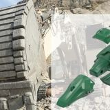 Excavator accessories bucket teeth