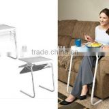 TABLE MATE 2 Smart Table Mate Portable Tray Foldable As Seen On TV Steel Base