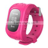 Mini kids smart watch gps tracking device for kids/ gps position and monitoring smart watch for children