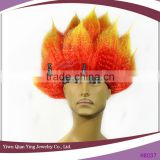 cheap flame style synthetic carnival party wigs