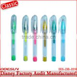Disney factory audit manufacturer's plastic gel ink pen 143148