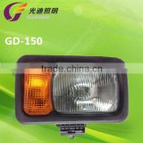 forklift snow plow lamp , snow plow blades headlight , snow plow for wheel loader kits