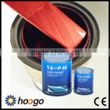 1K fine silver metallic red color car paint