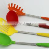 Colorful 7 Pieces Stainless Steel Cooking Utensil Set