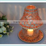 2014 new China manufacturing new mosaic lamp candle shade for home decoration&wedding