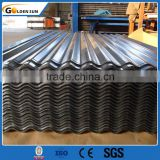 Excellent quality galvanized corrugated steel sheet material for roofing (supplier in China)