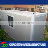 Useful modular container house with sanwich panel