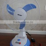 High quality small electric table desk fan electric motor cooling silent noise wholesale from china