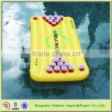 Beer drinking game Floating Inflatable PVC Beer Pong Table cheap swimming pool
