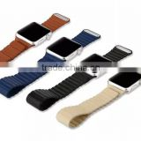Baseus Back Series Magnetic PU Leather Watch Band For iWatch Wrist Strap For 42MM Apple Watch MT-4092