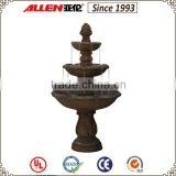Factory price Outdoor 3 Tier Water Resin Fountain