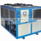 Single screw air cooled chiller/air cooler chiller/screw type air-cooled chiller with bitzer compressor