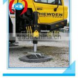 Road system HDPE ground protection mat/portable roadways mats HDPE/solid ground traction mats HDPE