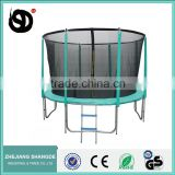 10ft cheap indoor and outdoor gym bungee trampoline tent with safety net wholesale for kids
